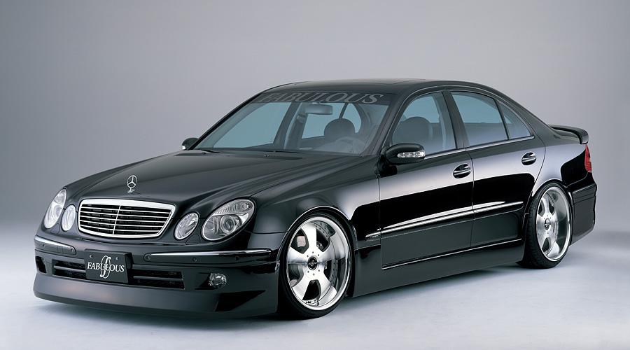 ファブレス公式サイト 187 Fabulous メルセデス・ベンツ Eクラス W211 ハーフ 2002~2006