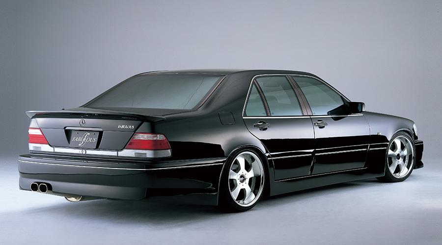 ファブレス公式サイト 187 Fabulous メルセデス・ベンツ Sクラス W140 1992~1998